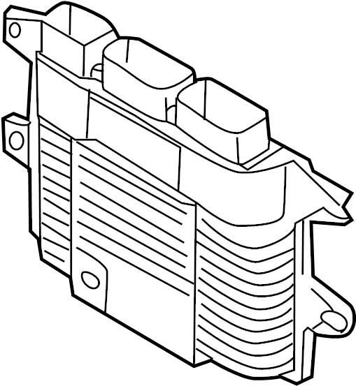 Nissan Juke Engine Control Module - 23710-1TV0D