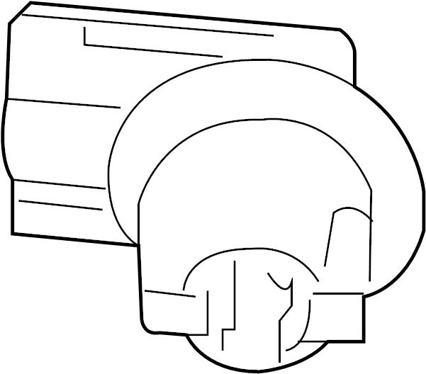 Nissan Armada License Plate Light Socket