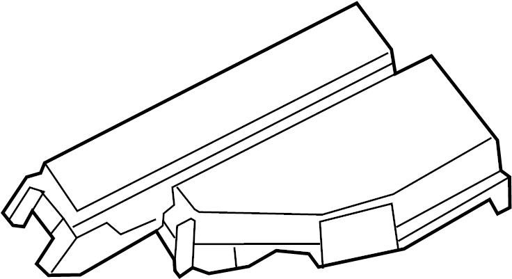 Nissan Pathfinder Cover Fusible Link Holder  Harness