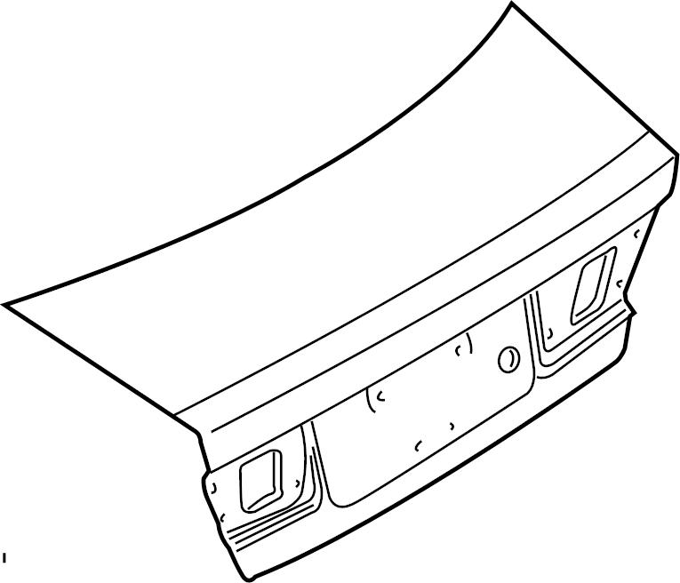 Nissan Sentra Deck Lid - H4300-5M030