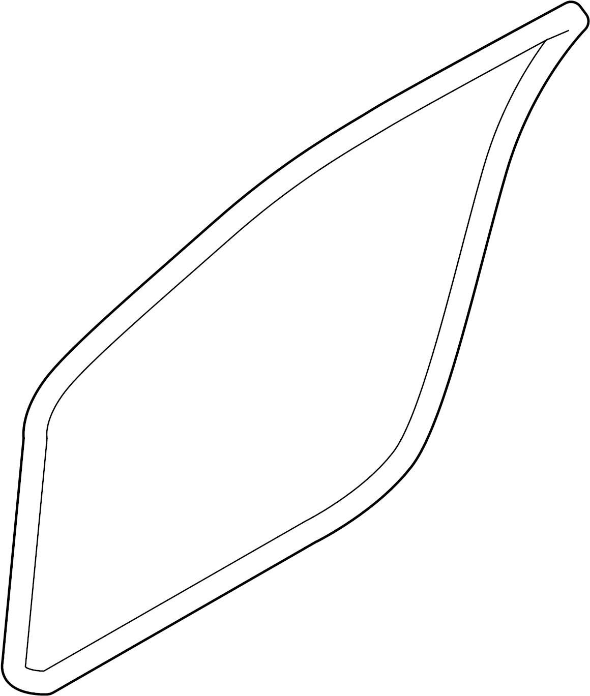 Nissan GT-R Door Seal (Right, Front). BODY