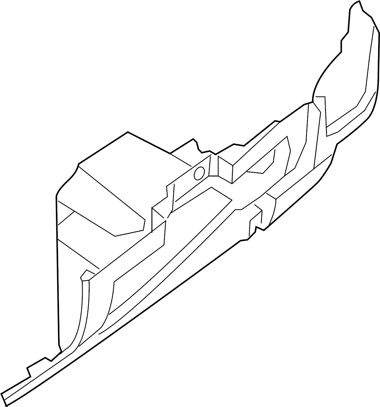 Nissan 300ZX Nut. CAL, FED - 01211-00033