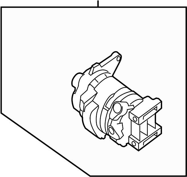 Nissan 300ZX A/c Compressor. Hvac - 92600-61S60