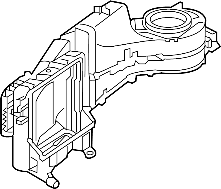 Nissan 300ZX Case B. (Lower). CAL, FED, UNIT