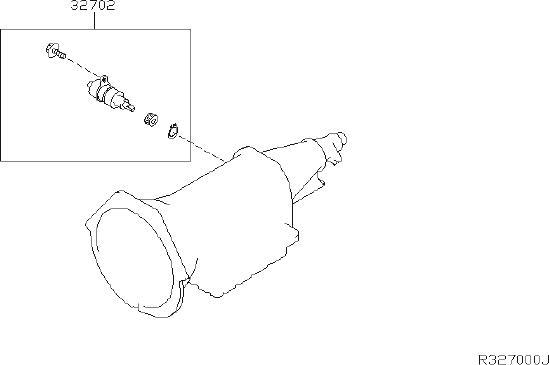 Nissan Pathfinder Vehicle Speed Sensor  Transmission