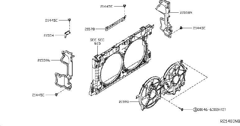 Nissan Altima Radiator Coolant Hose  Lower   Cooling