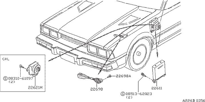 Nissan 200sx Resistor Dropping  Control  Engine