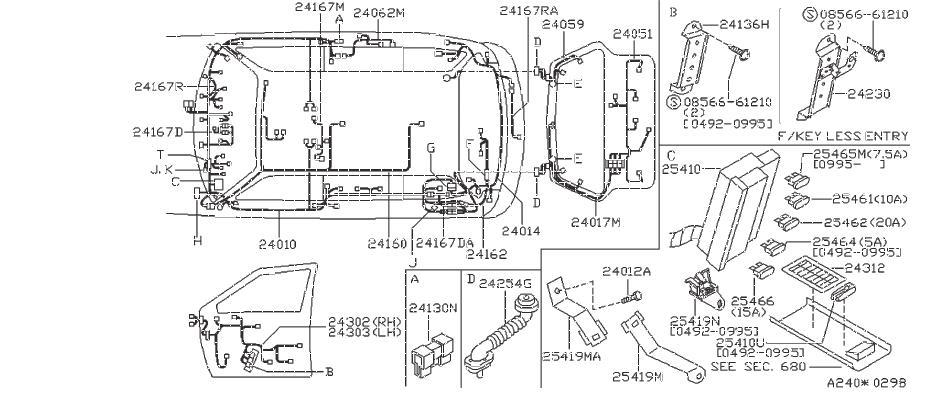 Datsun 310 Clip Wiring Harness