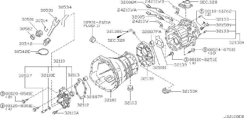 Nissan Xterra Case Overdrive Gear  Transmission