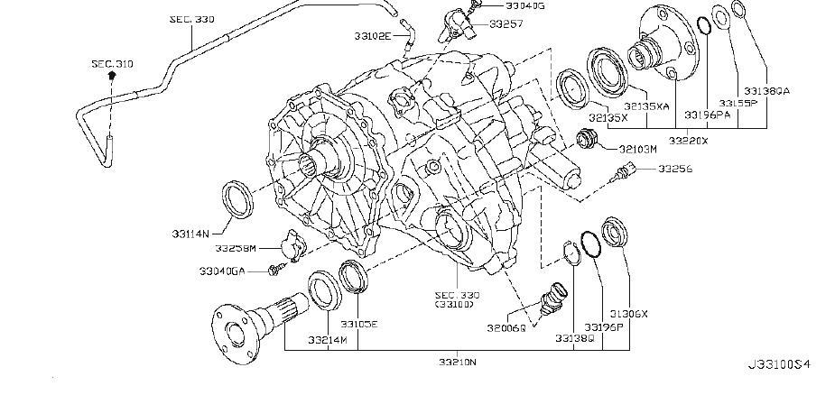 Driveshaft Problems | Parts Matter™  |All Wheel Drive Transfer Case Diagram